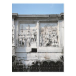 Detail from the Arch of Constantine Postcard