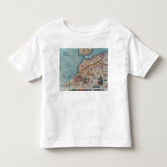Detail from the Catalan Atlas, 1375 Toddler T-shirt