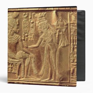 Detail from the Golden Shrine of Tutankhamun Binder