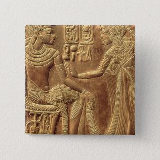 Detail from the Golden Shrine of Tutankhamun Button
