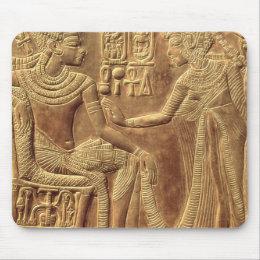 Detail from the Golden Shrine of Tutankhamun Mouse Pad