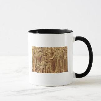 Detail from the Golden Shrine of Tutankhamun Mug