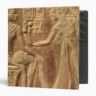 Detail from the Golden Shrine of Tutankhamun Vinyl Binders