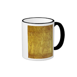Detail from the Golden Shrine Ringer Coffee Mug