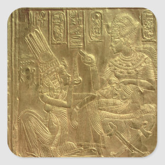 Detail from the Golden Shrine Square Sticker