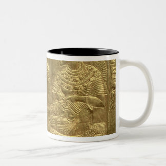 Detail from the Golden Shrine Two-Tone Coffee Mug
