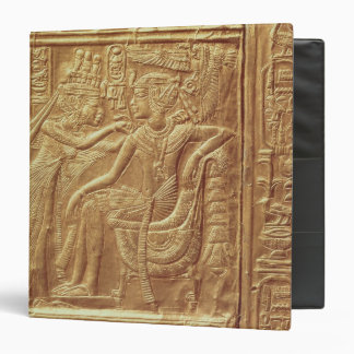 Detail from the little shrine of Tutankhamun Binders