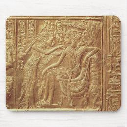 Detail from the little shrine of Tutankhamun Mouse Pad