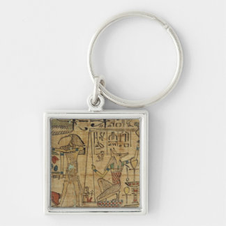 Detail from the papyrus of Nespakashuty, New Kingd Keychain