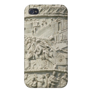 Detail from Trajan's Column Cover For iPhone 4