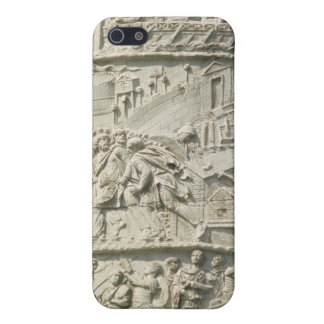 Detail from Trajan's Column iPhone 5 Cover