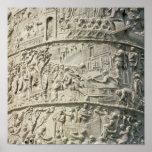 Detail from Trajan's Column Poster