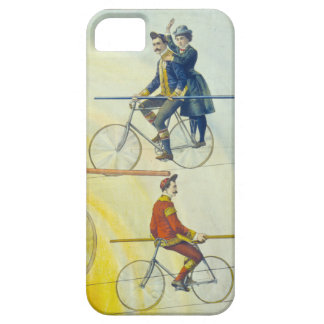 detail from vintage circus poster iPhone SE/5/5s case