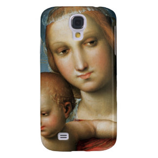 Detail from <Virgin and Child> ributed to Rapha Samsung Galaxy S4 Cover