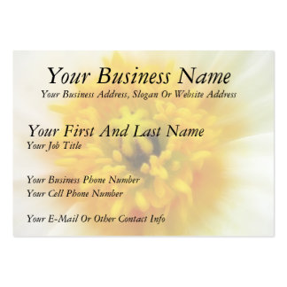 Detail - Iceland Poppy Large Business Cards (Pack Of 100)