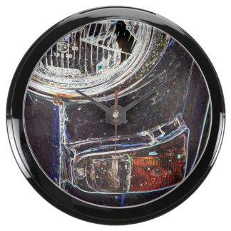 Detail images of Swedish cars. Aquavista Clock