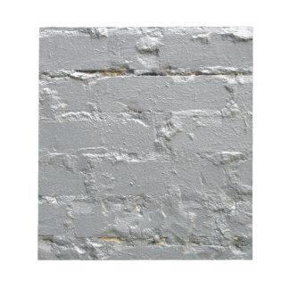 Detail of a brick wall close-up notepad