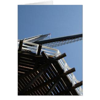 Detail of a Dutch windmill Greeting Card