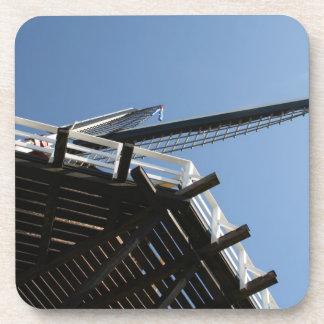 Detail of a Dutch windmill Coaster