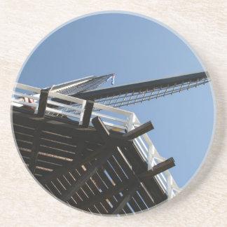 Detail of a Dutch windmill Drink Coaster