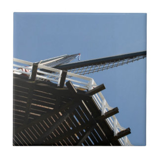 Detail of a Dutch windmill Tile