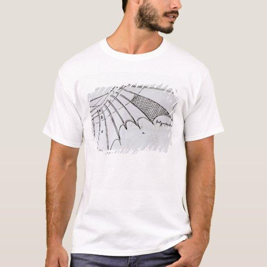 Detail of a mechanical wing T-Shirt
