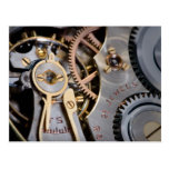 Detail of a pocket watch postcards