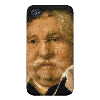 Detail of a Portrait of an old man, 1667 iPhone 4 Cases