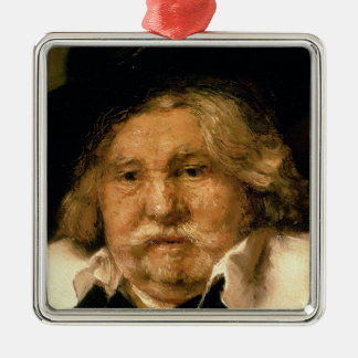 Detail of a Portrait of an old man, 1667 Metal Ornament