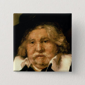 Detail of a Portrait of an old man, 1667 Pinback Button
