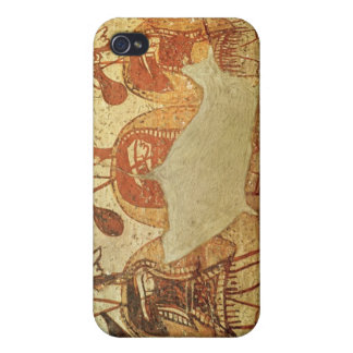 Detail of a red figure krater iPhone 4 cover
