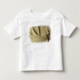 Detail of a relief of a boat, from a sarcophagus toddler t-shirt