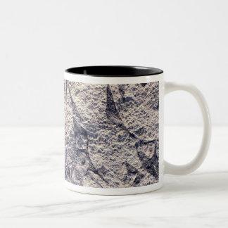 Detail of a ritual procession Two-Tone coffee mug