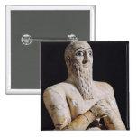 Detail of a statue of Itur-Shamagen Buttons
