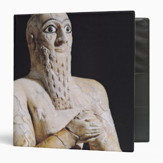 Detail of a statue of Itur-Shamagen Vinyl Binder