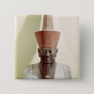 Detail of a statue of Mentuhotep II Pinback Button