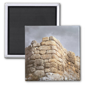 Detail of a stone wall 2 inch square magnet