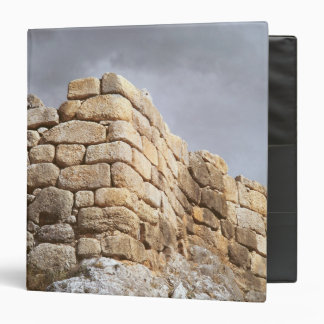 Detail of a stone wall binders