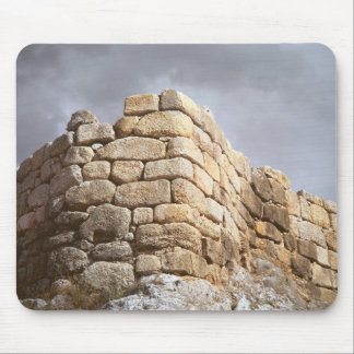 Detail of a stone wall mouse pad