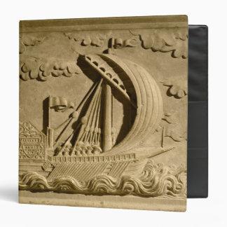 Detail of a Venetian warship Binder