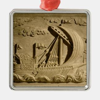 Detail of a Venetian warship Metal Ornament