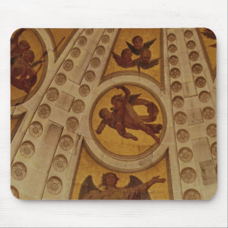 Detail of angels from the dome, built 1635-42 mouse pad