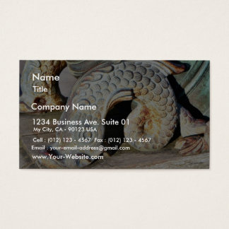 Detail Of Canon Business Card