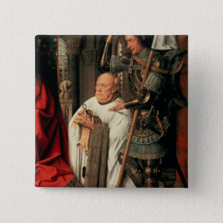 Detail of Canon Joris van der Paele Button