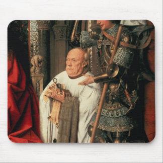 Detail of Canon Joris van der Paele Mousepads