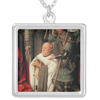 Detail of Canon Joris van der Paele Jewelry
