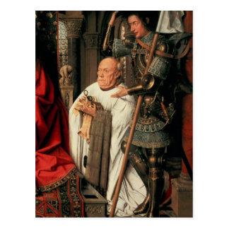 Detail of Canon Joris van der Paele Postcard