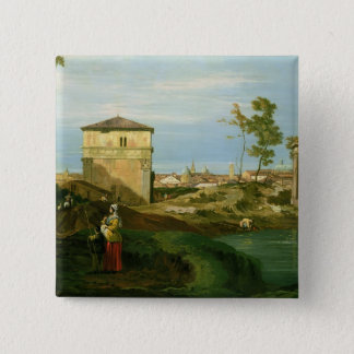 Detail of 'Capriccio with Motifs from Padua' Button