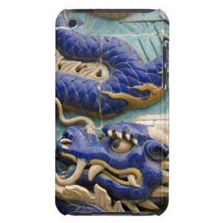 Detail of ceramic dragon on historic Nine Dragon Barely There iPod Cases