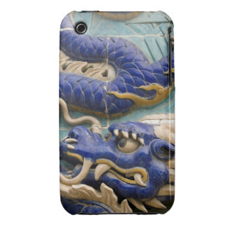 Detail of ceramic dragon on historic Nine Dragon Case-Mate iPhone 3 Case